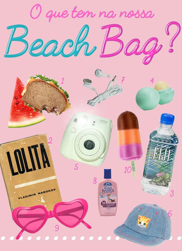Eu quero a minha beach bag